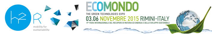 "Il CARe è promotore di ""H2R – Mobility for sustainability 2015"""